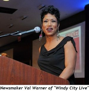 Blog 5 - Newsmaker Val Warner, Windy City Live