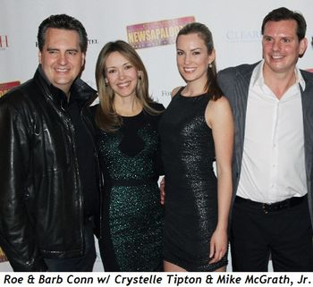 Blog 6 - Roe and Barb Conn with Crystelle Tipton and Mike McGrath, Jr.