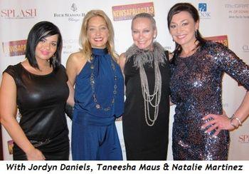 Blog 12 - With Jordyn Daniels, Taneesha Maus and Natalie Martinez