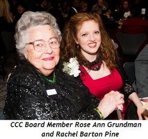 Blog 4 - Rose Ann Grundman (CCC board member) and Rachel Barton Pine