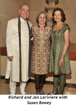 Blog 5 - Richard and Jan Lariviere with Susan Bowey