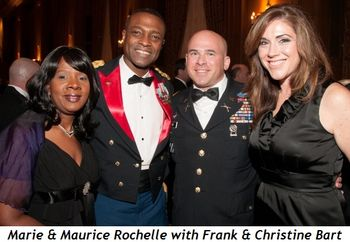 Blog 1 - Marie and Maurice Rochelle , Frank and Christine Bart