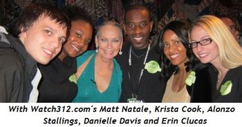 14 - With Watch312's Matt Natale, Krista Cook, Alonzo Stallings, Danielle Davis and Erin Clucas