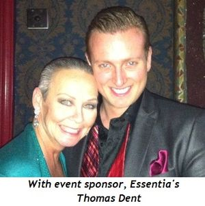 15 - With event sponsor, Essentia's Thomas Dent