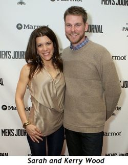 7 - Sarah and Kerry Wood