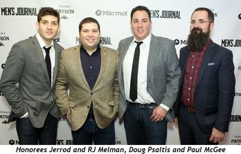 7 - Honorees Jerrod and RJ Melman, Doug Psaltis, Paul McGee