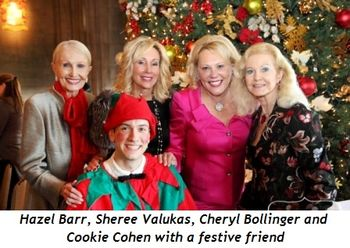 4 - Hazel Barr, Sheree Valukas, Cheryl Bollinger and Cookie Cohen