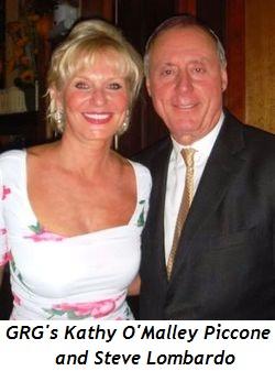 GRG's Kathy O'Malley Piccone and Steve Lombardo