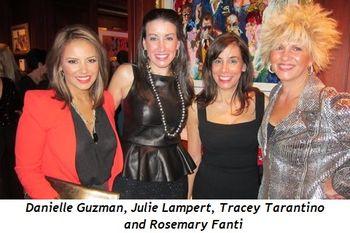 2 - Danielle Guzman, Julie Lampert, Tracey Tarantino and Rosemary Fanti