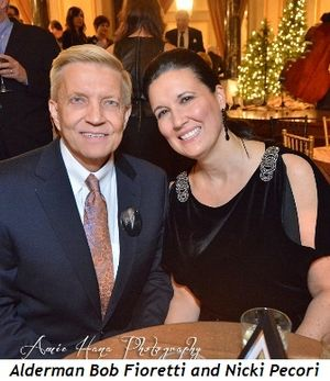 23 - Alderman Bob Fioretti and Nicki Pecori