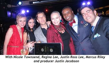 1 - With Nicole Townsend, Regina Lee, Justin Ross Lee, Marcus Riley and producer Justin Jacobson