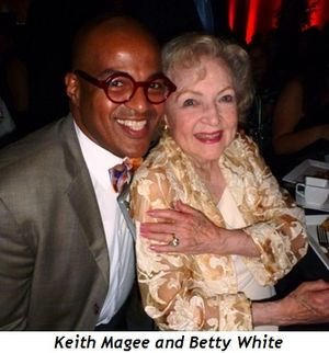 3 - Keith Magee and Betty White