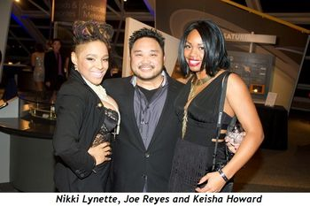 3 - Nikki Lynette, Joe Reyes and Keisha Howard