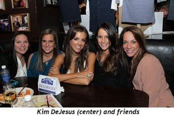 9 - Kim DeJesus (center) and friends