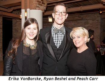7 - Erika VonBorcke, Ryan Beshel, Peach Carr