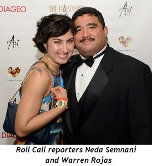 2 - Roll Call reporters Neda Semnani and Warren Rojas
