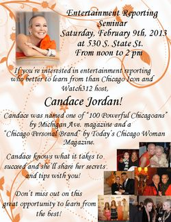 Candid Candace seminar flyer