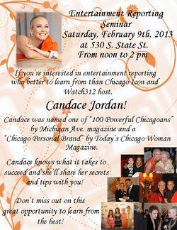 Candid Candace seminar flyer