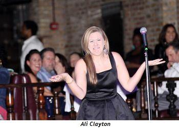 5 - Ali Clayton