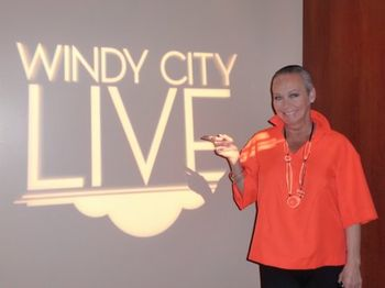 Me at Windy City Live