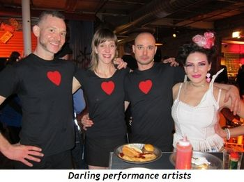 2 - Darling performance artists