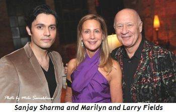 5 - Sanjay Sharma and Marilyn and Larry Fields