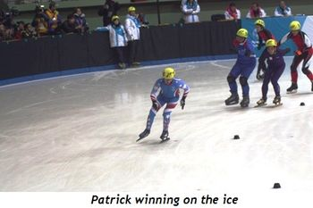 5 - Patrick winning on the ice