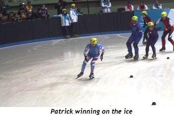 5 - Patrick winning on the ice