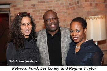 12 - Rebecca Ford, Les Coney and Regina Taylor