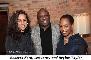 12 - Rebecca Ford, Les Coney and Regina Taylor