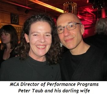 8 - MCA Director of Performance Programs Peter Taub and his darling wife