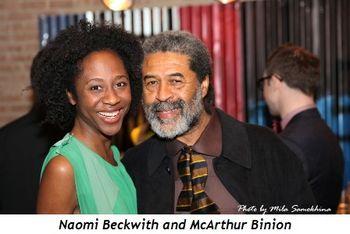 Naomi Beckwith and McArthur Binion