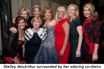 1 - Shelley MacArthur surrounded by her adoring co-chairs