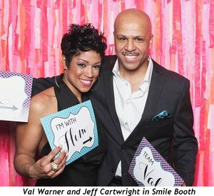 1 - Val Warner and Jeff Cartwright in Smile Booth