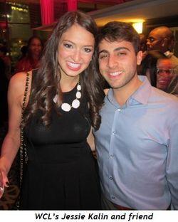 WCL's Jessie Kalin and friend