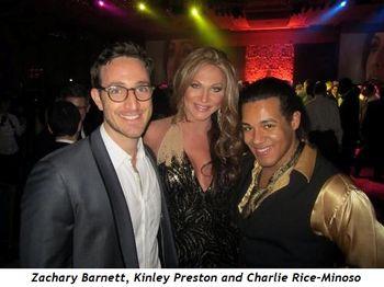 4 - Zachary Barnett, Kinley Preston and Charlie Rice-Minoso
