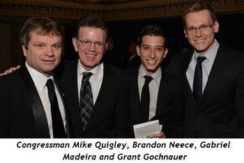 7 - Congressman Mike Quigley, Brandon Neece, Gabriel Madeira and Grant Gonchnauer