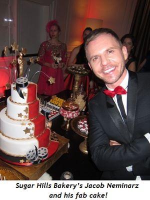 5 - Sugar Hills Bakery's Jacob Neminarz and his fab cake!