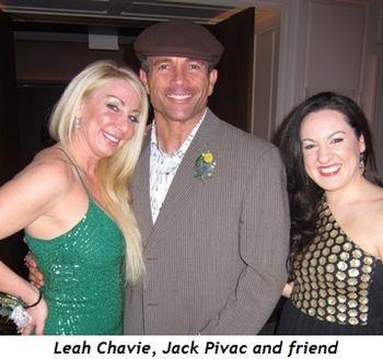 7 - Leah Chavie, Jack Pivac and friend