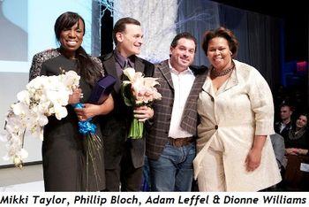1 - Mikki Taylor, Phillip Bloch, Adam Leffel and Dionne Williams
