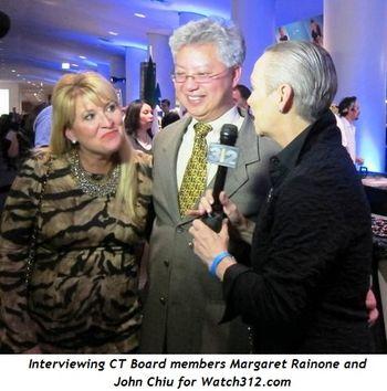9 - Interviewing CT Board members Margaret Rainone and John Chiu for Watch312
