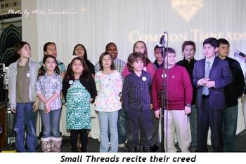 11 - Small Threads recite their creed