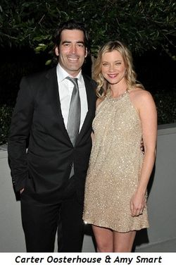 3 - Emcees Carter Oosterhouse and Amy Smart