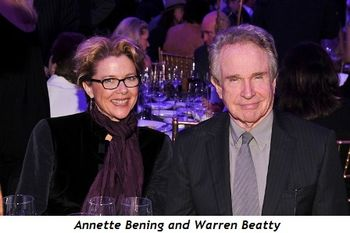 4 - Annette Bening and Warren Beatty