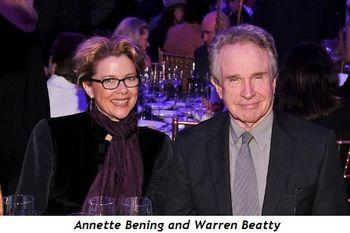 4 - Annette Bening and Warren Beatty