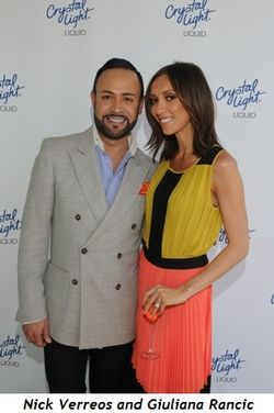 1 - Nick Verreos and Giuliana Rancic