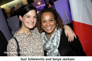 5 - Sonya Jackson (R) and cute friend