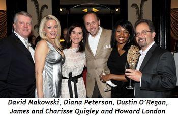 2 - David Makowski, Diana Peterson, Dustin O'Regan, James and Charisse Quigley and Howard London