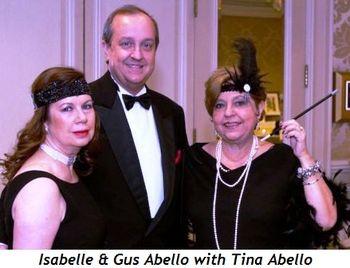 8 - Isabelle & Gus Abello, Tina Abello