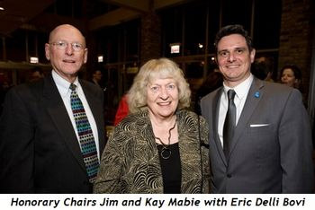 2 - Honorary Chairs Jim and Kay Mabie with Eric Delli Bovi